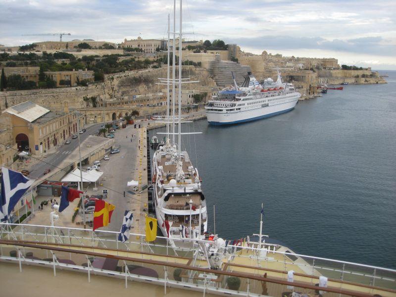 Kreuzfahrthafen Valletta