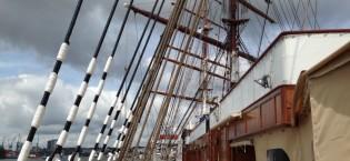 Schiffsbesichtigung der Sea Cloud II
