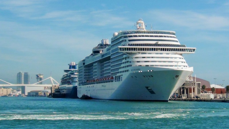 MSC Splendida in Barcelona